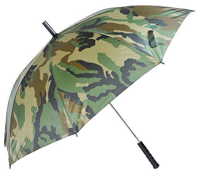 BW Regenschirm flecktarn Regenschutz für Angler Jäger 105 cm Durchmesser