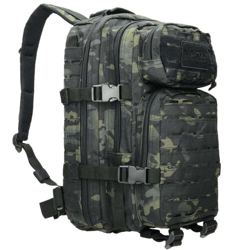 Mil-Tec 20L Small LASER CUT Assault US Tactical Backpack MOLLE ... 81d0209a6a