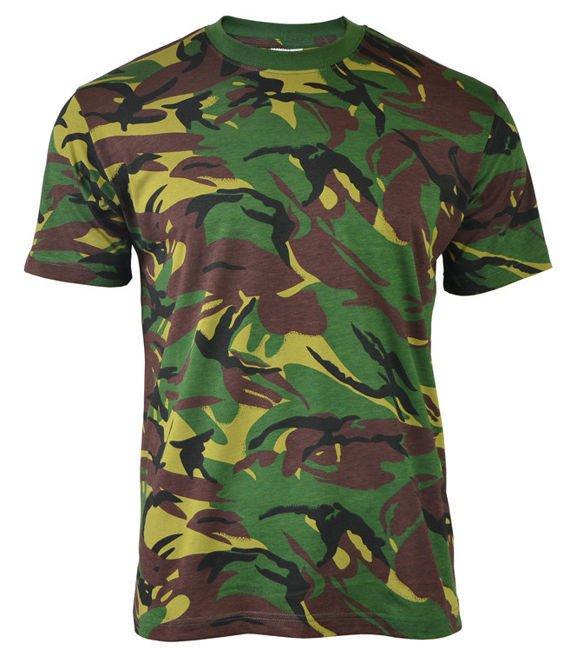 US Military Combat T-Shirt Army Mens Top Cadet Cotton Tee Metro Urban Camo S-3XL