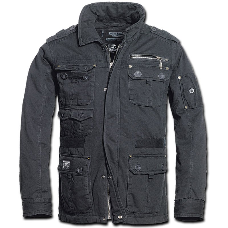 Brandit 3103.2 Mens Platinum Vintage Jacket Classic Military Style ... 2f35b912642
