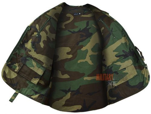 Mil-Tec Hunting and Fishing Vest Woodland