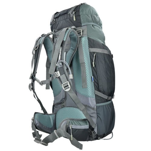 Highlander Travel Backpack Expedition 65L Black