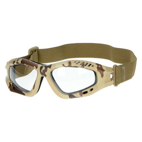Mil-Tec Protective Goggles Clear Desert