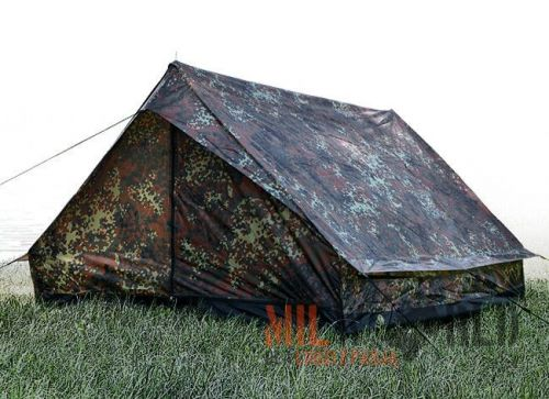 Mil-Tec Mini Pack Standard Tent for 2 People Flecktarn