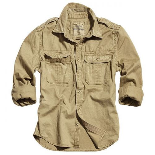 Surplus Long Sleeve Shirt Raw Vintage 1/1 Sand