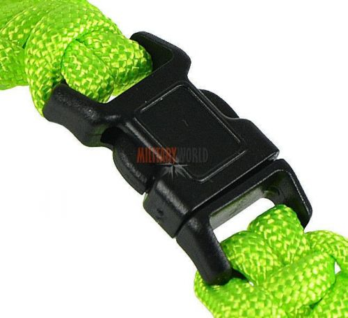 Mil-Tec Paracord 15mm Bracelet Neon Green