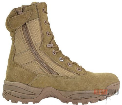 Mil-Tec Tactical Boots Two Zippers Coyote