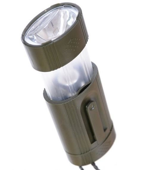 Mil-Tec multi-functional Flashlight 2in1 Olive