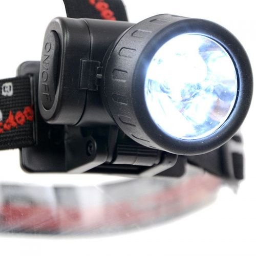 Fox Outdoor Latarka Czołowa 3 LED