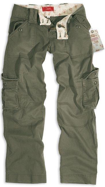 bc8e77cbaf9df1 Surplus Spodnie Bojówki Damskie Olive | Milworld.pl