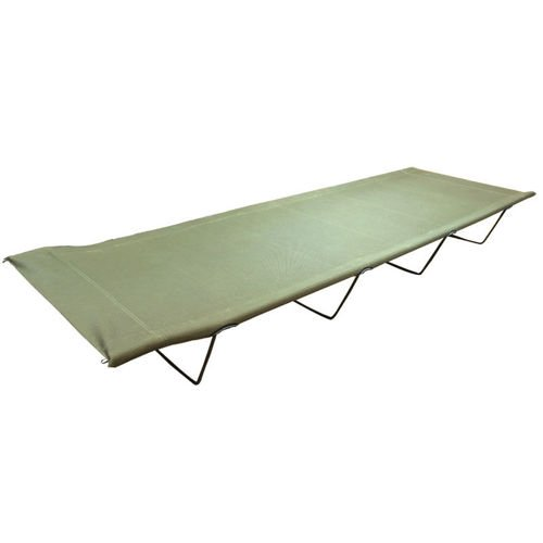 Highlander Łóżko Polowe Steel Camp Bed Olive
