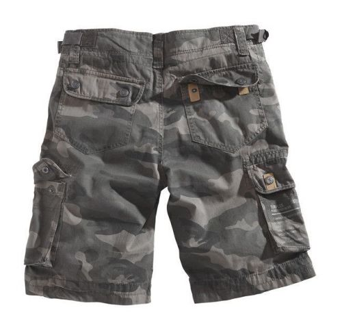 Surplus Shorts Xylontum Black Camo