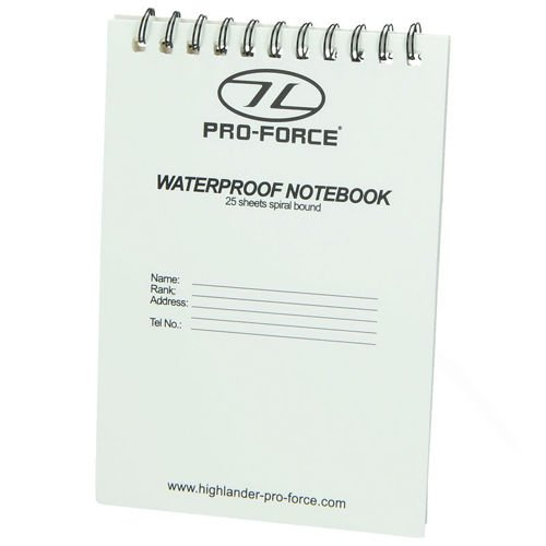 Highlander Notes Wodoodporny Waterproof Notebook