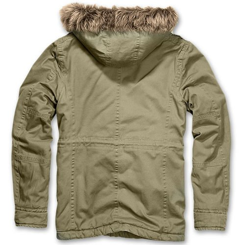 Brandit Vintage Explorer Winter Jacket Olive Drab