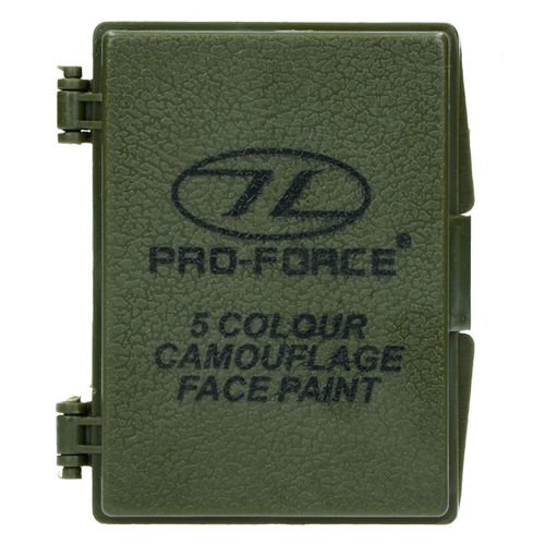 Pro-Force Camo Face Paint 5in1