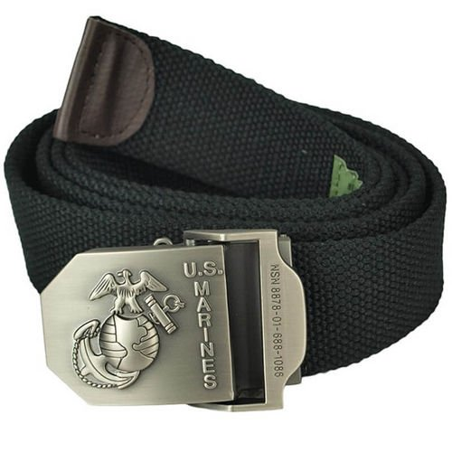 Texar Webbing Belt USMC Black
