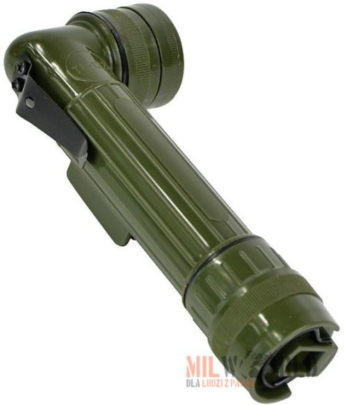 Mil-Tec  Medium Anglehead Flashlight 17cm Olive
