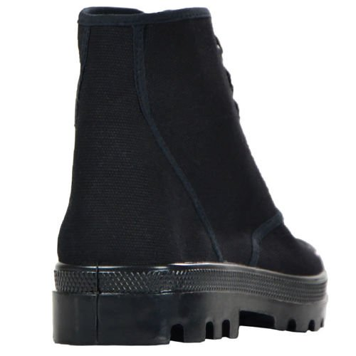 Mil-Tec Canvas Trainers Boots Black