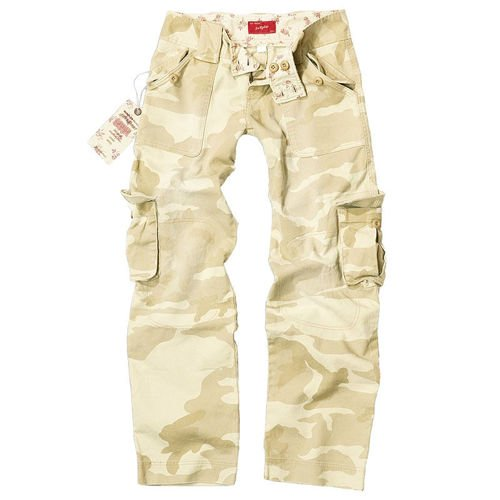 Surplus Cargo Pants Women Desert