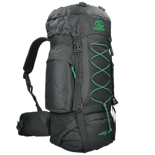 Highlander Travel Backpack Rambler 44 (2017) Black