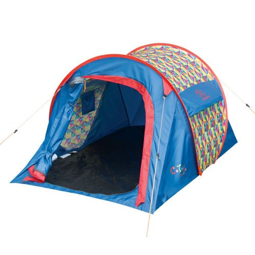 Highlander Colour Burst Pop Up Tent