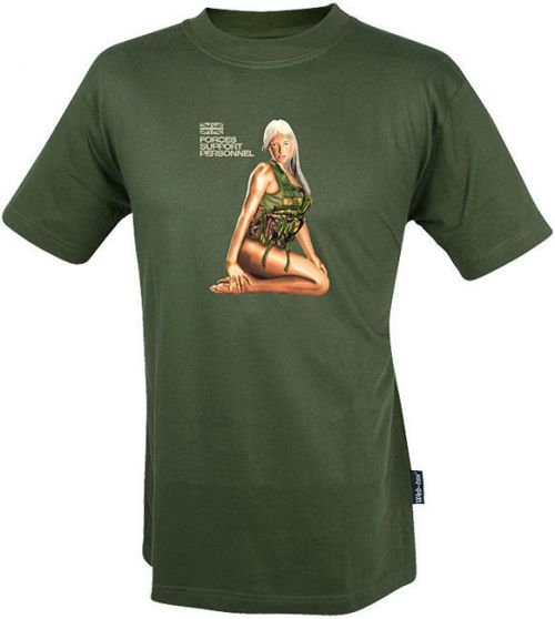 Web-Tex T-Shirt Assault Girl Olive