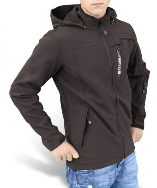 Surplus Bluza SoftShell Czarna