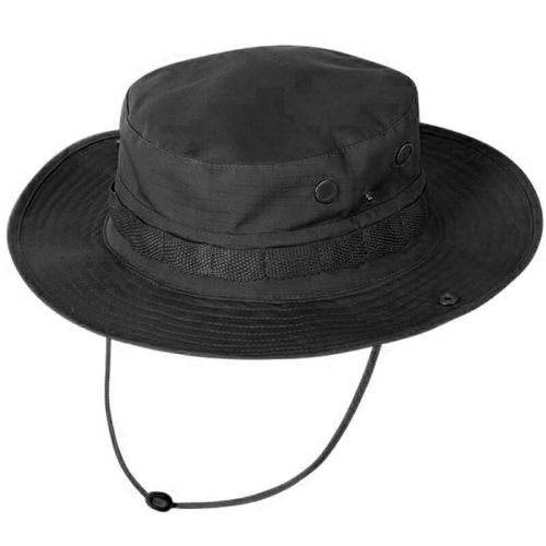 Texar Hat Rip-Stop Jungle Black