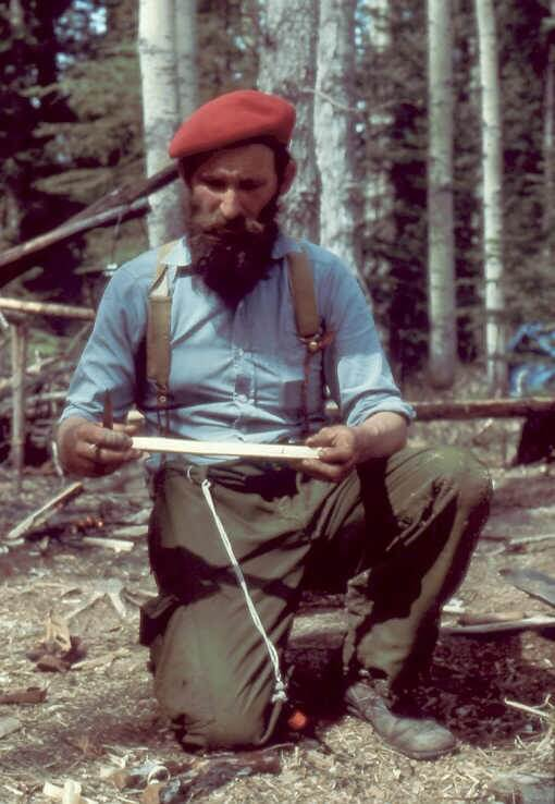 Mors Kochanski - the father of bushcraft.