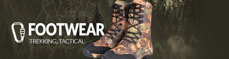 Trekking and Tactical Footwear