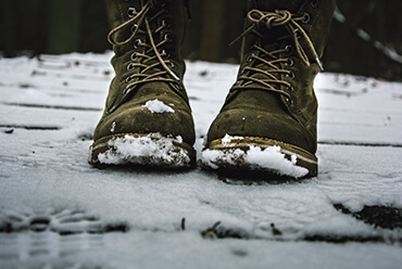 Protect your feet from freezing - winter footwear at Milworld.pl