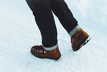 Winter march - choose the right footwear