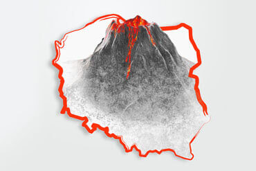 Polish ring of fire, the volcanoes in Poland