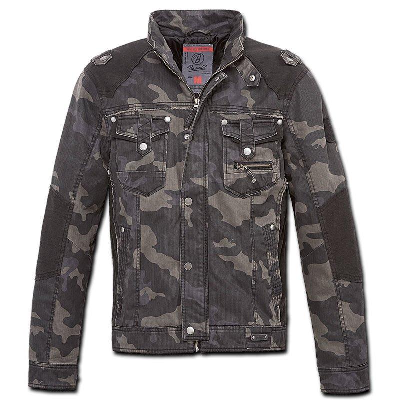 32be9f6b2af20 Brandit Blake Biker Jacket Dark Camo | Milworld