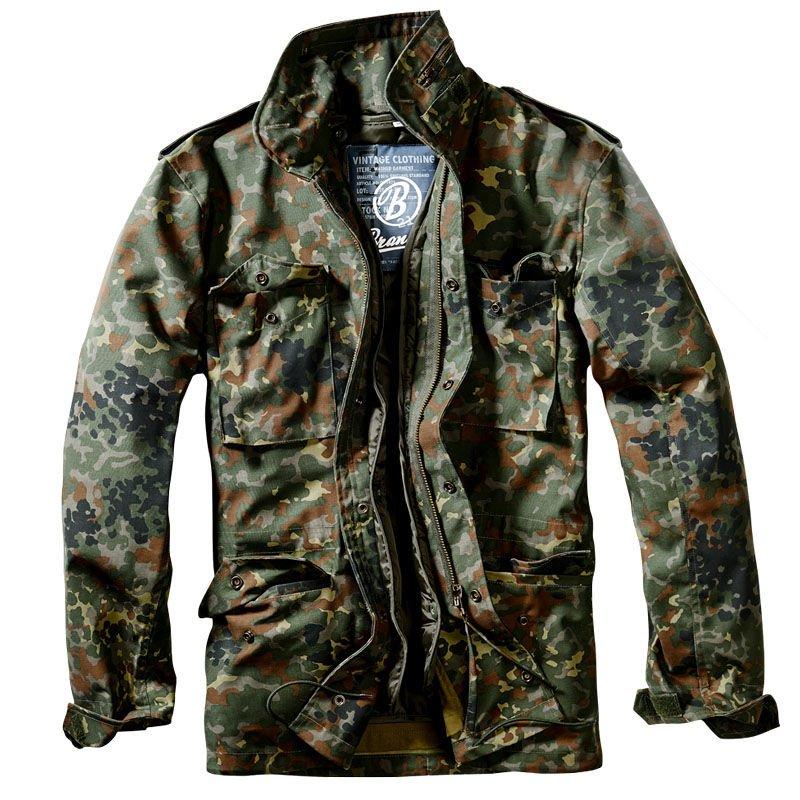 4ca3dfe9a8666 Brandit Classic M65 Jacket Flecktarn | Milworld