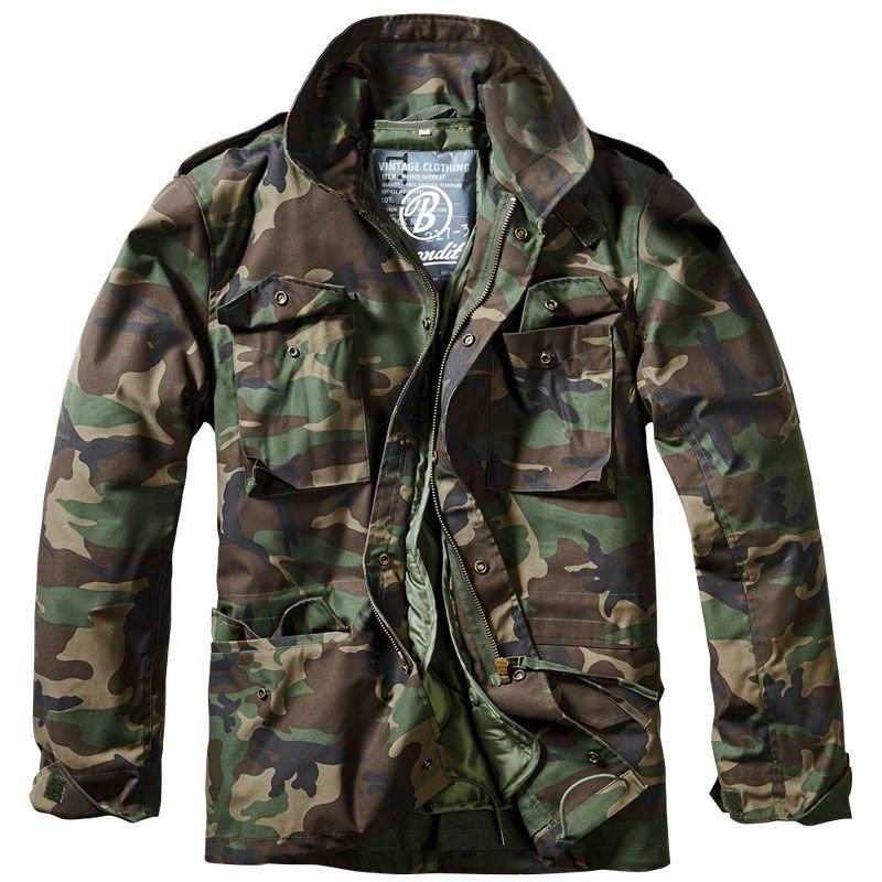 Brandit Classic M65 Jacket Woodland ... 627112c72c1
