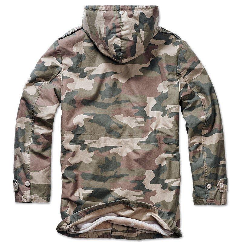 Outlet zu verkaufen Neueste Mode viel rabatt genießen Brandit Military BW Parka Woodland