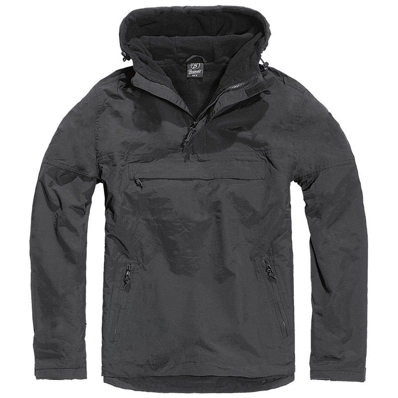 bbe8b45e2 Brandit Windbreaker Jacket Black | Milworld