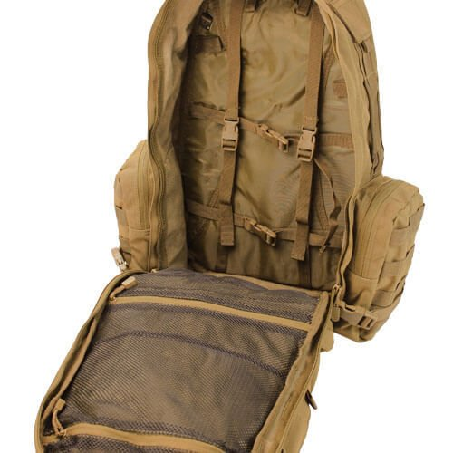 0b21b4eae3 ... Condor Tactical Backpack 3-Day Assault Pack 50L Coyote Brown ...