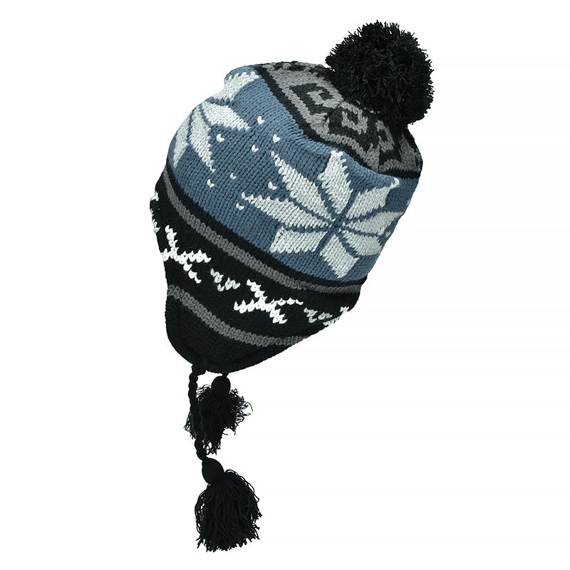 1a4542eeed1 ... Fox Outdoor Peruvian Winter Hat Lima Blue ...