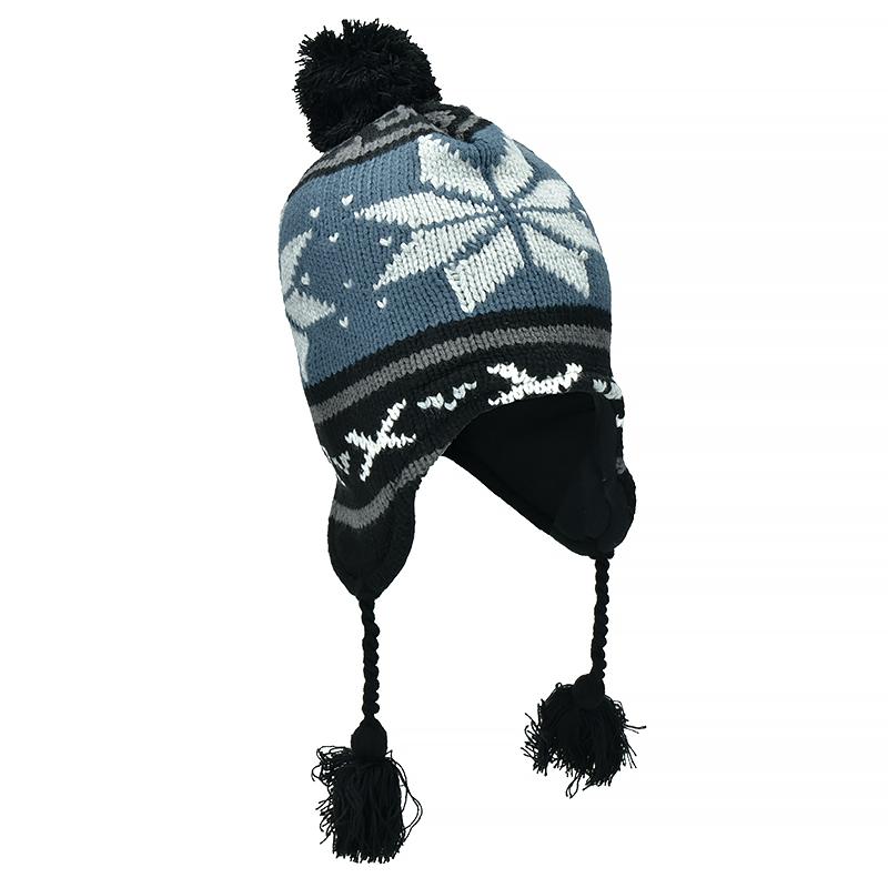 91b8d8a2f2a ... Fox Outdoor Peruvian Winter Hat Lima Blue