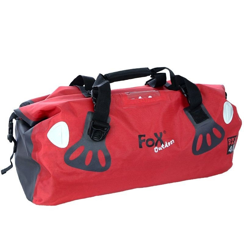 e8cccb84caea Fox Outdoor Waterproof Bag Dry Pack 40L Red