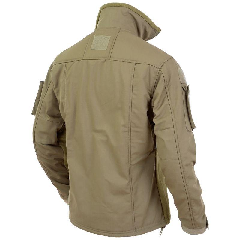 ... MFH Combat Fleece Jacket Coyote ... 4f7a7ee0f73