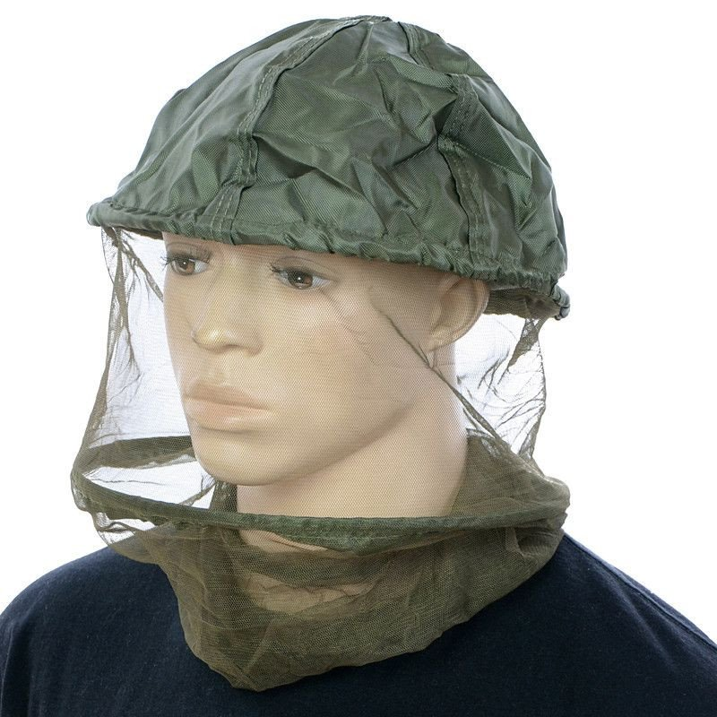 Max Fuchs Mosquito Head With Metal Ring Olive