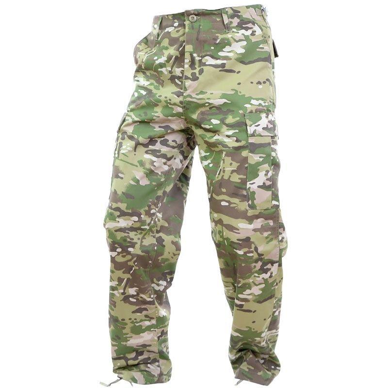 5cfda54ac25fc1 Mil-Tec BDU Ranger Pants Multitarn | Milworld