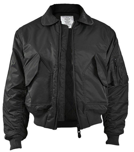 Mil-Tec Flek CWU Jacket Black  7e594b0a4f