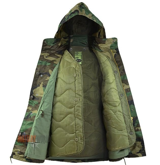 ... Mil-Tec M65 Jacket Woodland ... 45ce3eccdc2