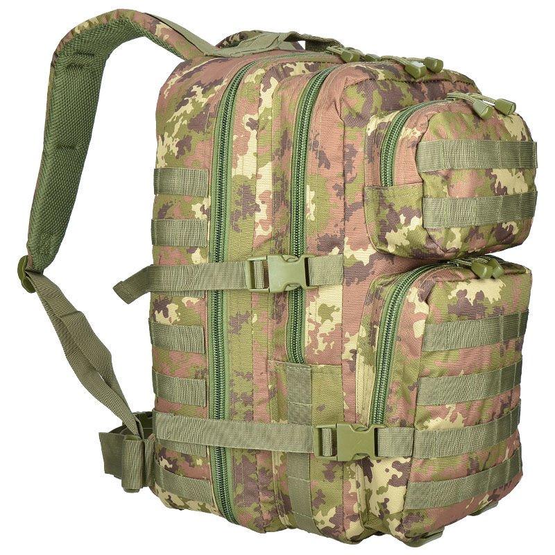 Mil-Tec MOLLE Tactical Backpack US Assault Large Vegetato Woodland    Milworld 3445a0e938