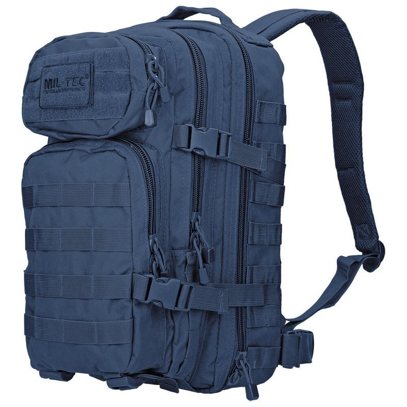 Mil-Tec MOLLE Tactical Backpack US Assault Small Navy Blue   Milworld dbc8daa35d