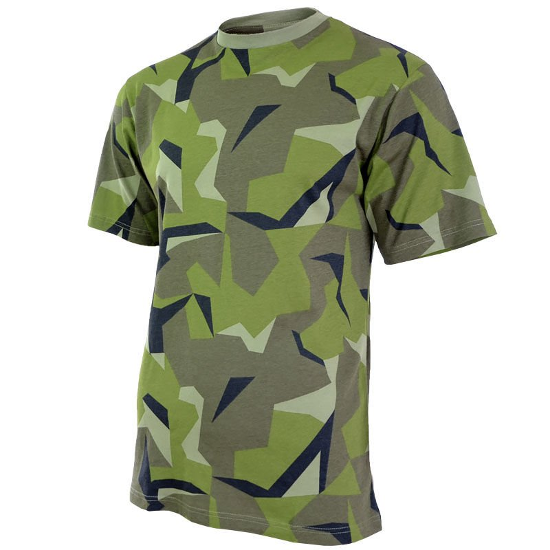 a3917951 Mil-Tec T-shirt Swedish Camo | Milworld